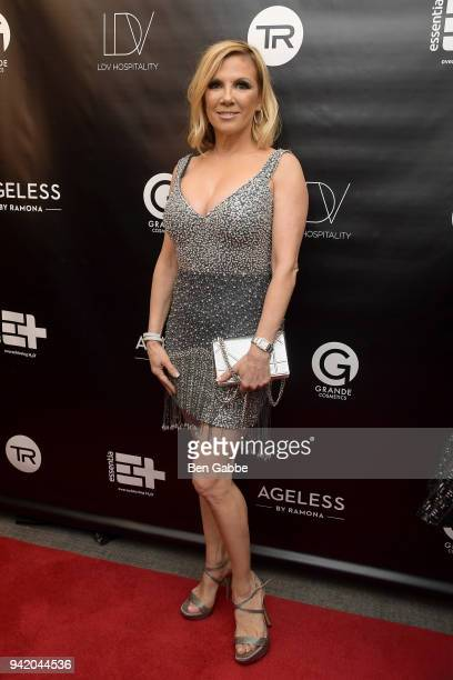 TV personality Ramona Singer attends The Real Housewives of New York Season 10 Premiere Viewing Party at The Seville on April 4 2018 in New York City