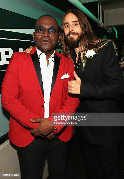 TV personality Randy Jackson and actor Jared Leto attend the 18th Annual Hollywood Film Awards at The Palladium on November 14 2014 in Hollywood...