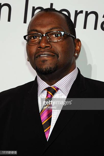 TV personality Randy Jackson attends the 2009 GRAMMY Salute to Icons honoring Clive Davis at the Beverly Hilton Hotel on February 7 2009 in Beverly...