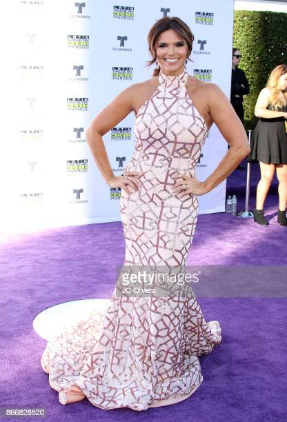 TV personality Rashel Diaz attends The 2017 Latin American Music Awards at Dolby Theatre on October 26 2017 in Hollywood California
