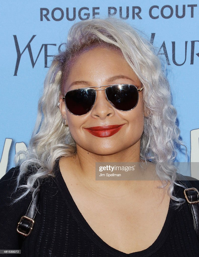 TV personality Raven-Symone attends the 'Paper Towns' New York premiere at AMC Loews Lincoln Square on July 21, 2015 in New York City.