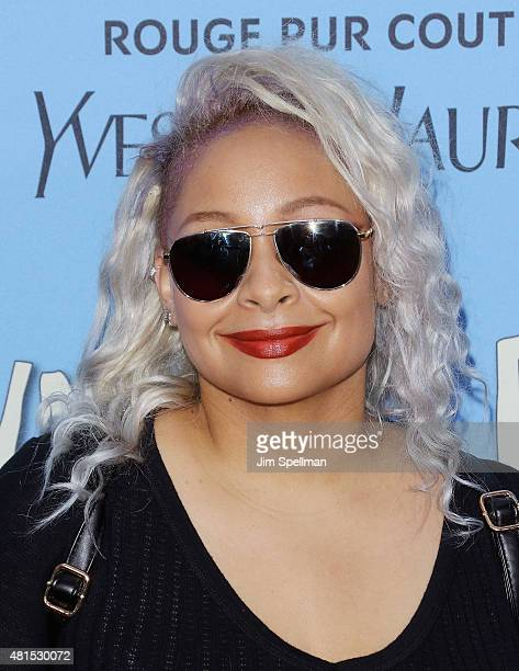 TV personality RavenSymone attends the Paper Towns New York premiere at AMC Loews Lincoln Square on July 21 2015 in New York City
