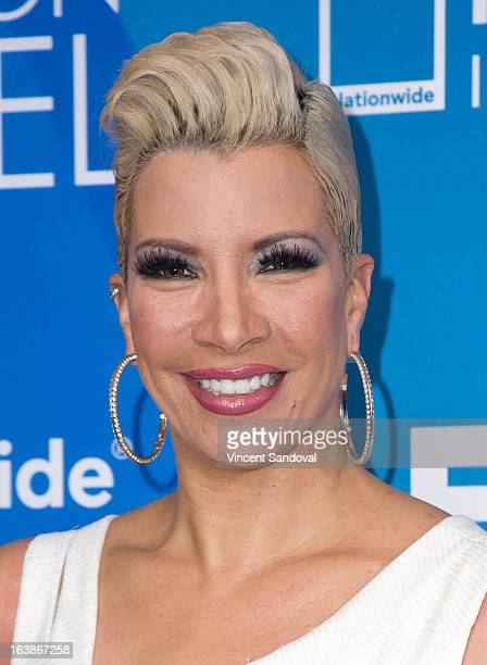 TV personality Rebecca Crews attends the BET 13th annual 'Celebration Of Gospel' at Orpheum Theatre on March 16 2013 in Los Angeles California