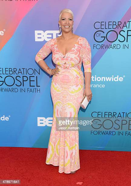 TV personality Rebecca Crews attends the BET Celebration of Gospel 2014 at Orpheum Theatre on March 15 2014 in Los Angeles California