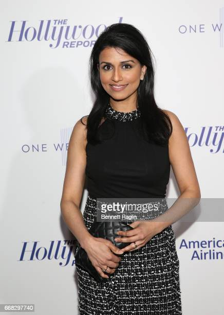 TV personality Reena Ninan attends The Hollywood Reporter's 35 Most Powerful People In Media 2017 at The Pool on April 13 2017 in New York City