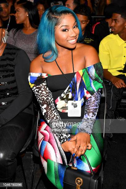 TV personality Reginae Carter during the BET Hip Hop Awards 2018 at Fillmore Miami Beach on October 6 2018 in Miami Beach Florida