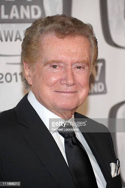 TV personality Regis Philbin attends the 9th Annual TV Land Awards at the Javits Center on April 10 2011 in New York City