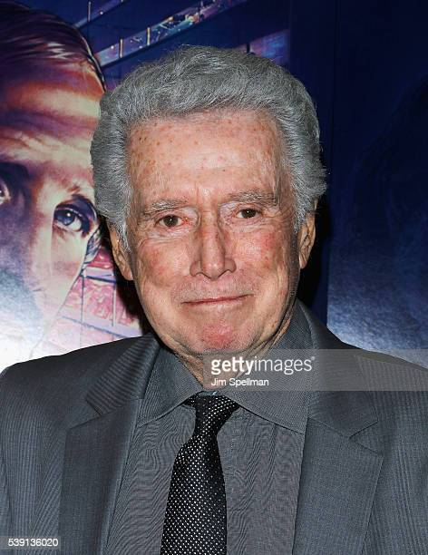 TV personality Regis Philbin attends the 'De Palma' New York screening at DGA Theater on June 9 2016 in New York City
