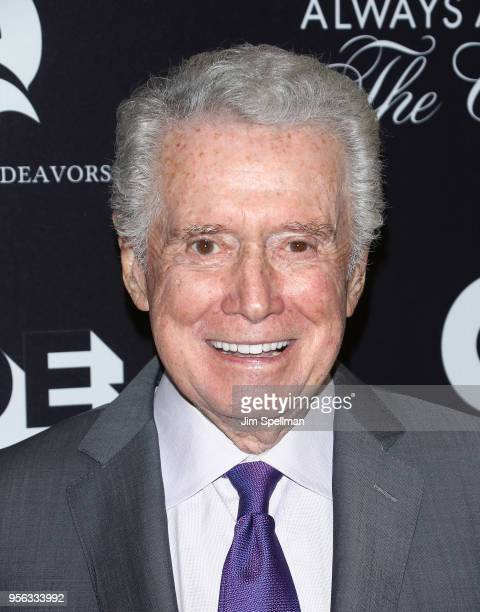 TV personality Regis Philbin attends the New York premiere of 'Always At The Carlyle' at The Paris Theatre on May 8 2018 in New York City
