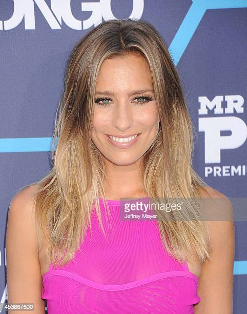 TV personality Renee Bargh arrives at the 16th Annual Young Hollywood Awards at The Wiltern on July 27 2014 in Los Angeles California