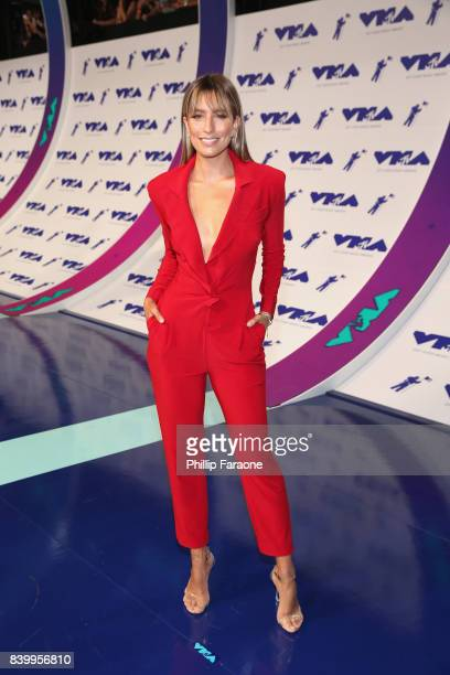 TV personality Renee Bargh attends the 2017 MTV Video Music Awards at The Forum on August 27 2017 in Inglewood California