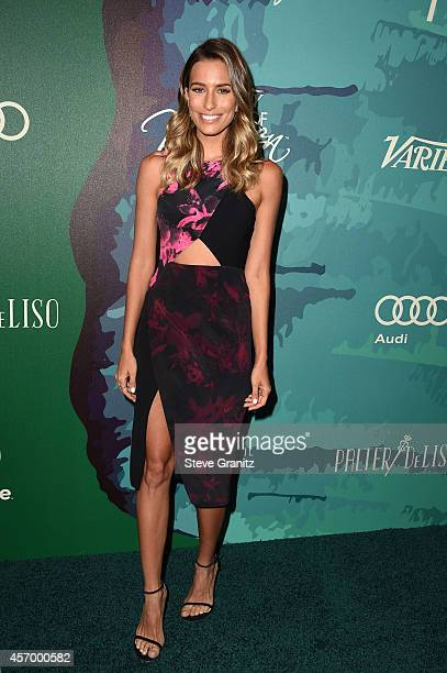 TV personality Renee Bargh attends Variety's 2014 Power of Women Event in LA presented by Lifetime at the Beverly Wilshire Four Seasons Hotel on...