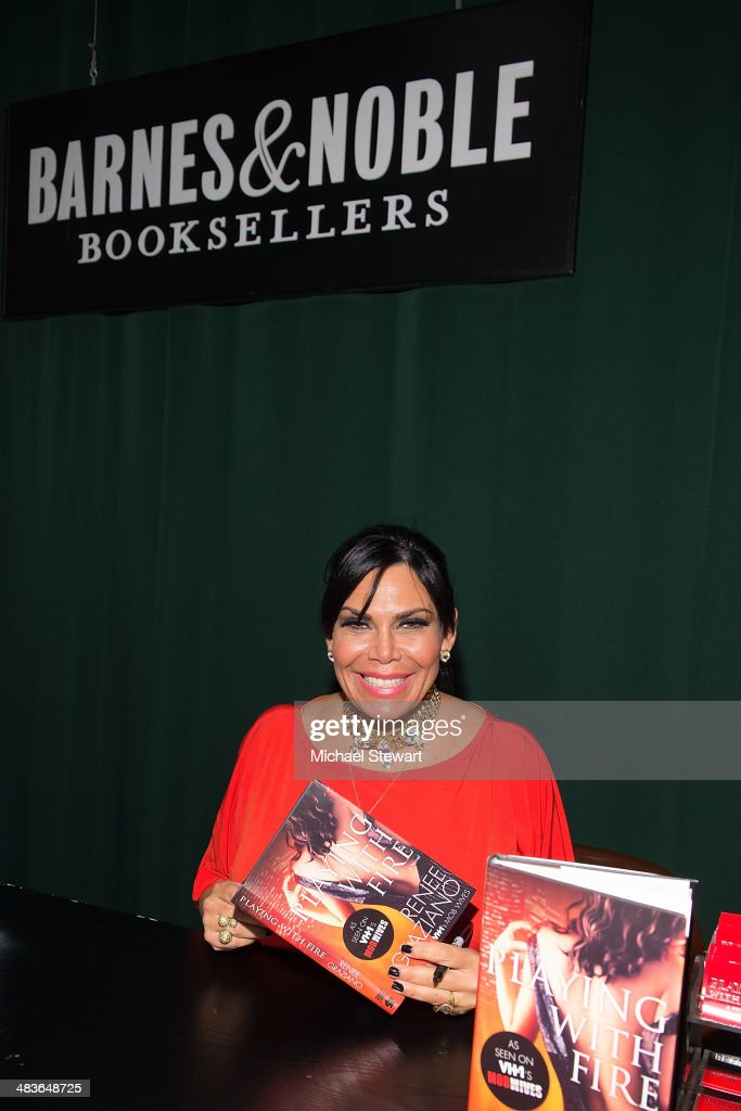 "Renee Graziano Signs Copies Of ""Playing With Fire"""