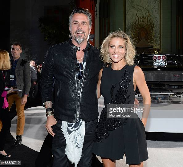 Tv Personality Richard Rawlings And Actress Elsa Pataky Attend The