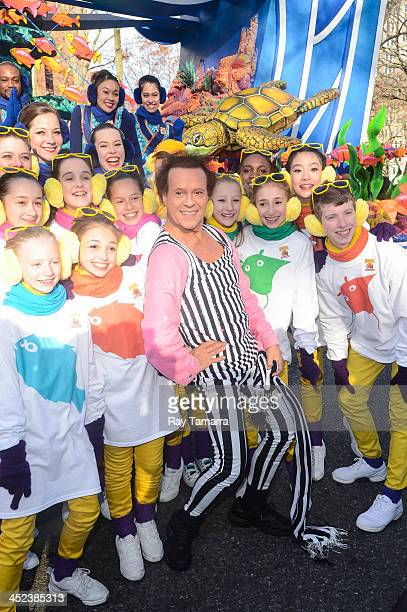 TV personality Richard Simmons attends the 87th Annual Macy's Thanksgiving Day Parade on November 28 2013 in New York City