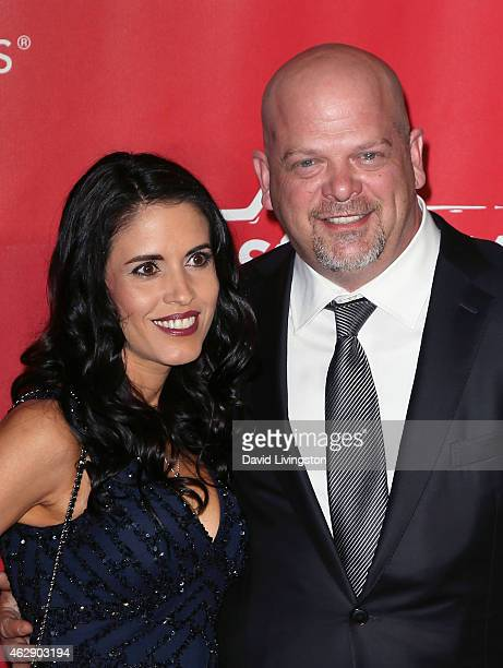 TV personality Rick Harrison and Deanna Burditt attend the 2015 MusiCares Person of the Year Gala honoring Bob Dylan at the Los Angeles Convention...