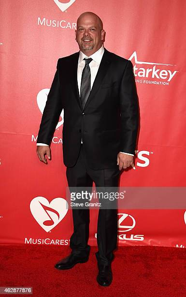 TV personality Rick Harrison attends the 25th anniversary MusiCares 2015 Person Of The Year Gala honoring Bob Dylan at the Los Angeles Convention...