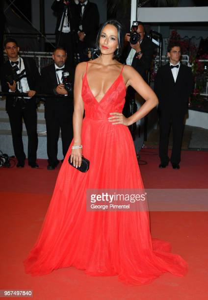 Personality Rita Pereira attends the screening of The Spy Gone North during the 71st annual Cannes Film Festival at Palais des Festivals on May 11...