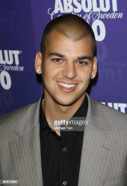 Personality Robert Kardashian arrives at the 2008 Glow In The Dark Tour official afterparty hosted by Absolut 100 held at GOA nightclub on April 22...
