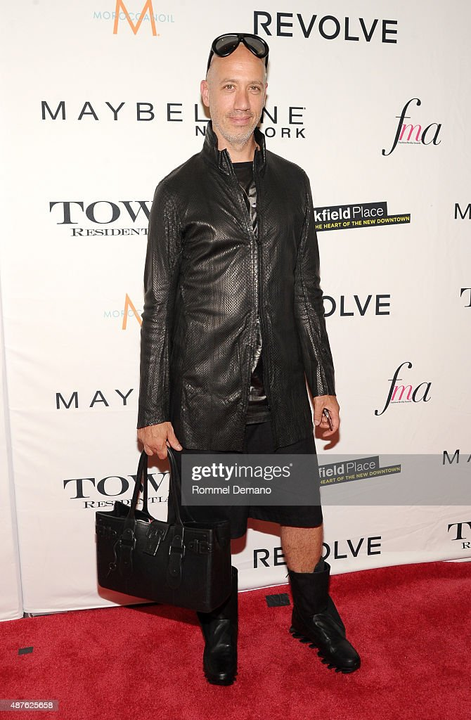 TV personality Robert Verdi attends The Daily Front Row's Third Annual Fashion Media Awards at the Park Hyatt New York on September 10, 2015 in New York City.