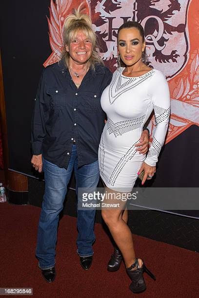 TV personality Robin Byrd and adult actress Lisa Ann attend Lisa Ann's Birthday Celebration at Headquarters on May 7 2013 in New York City