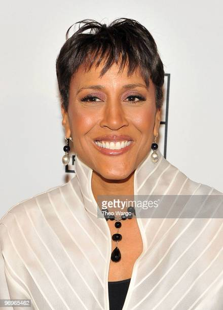 Personality Robin Roberts attends the 2010 AFTRA AMEE Awards at The Grand Ballroom at The Plaza Hotel on February 22, 2010 in New York City.