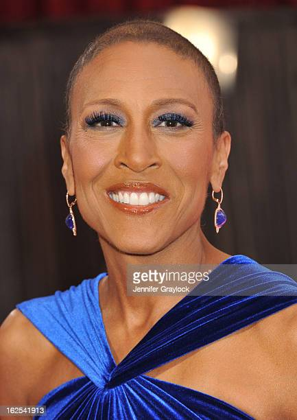 Personality Robin Roberts attends the 85th Annual Academy Awards at Hollywood & Highland Center on February 24, 2013 in Hollywood, California.