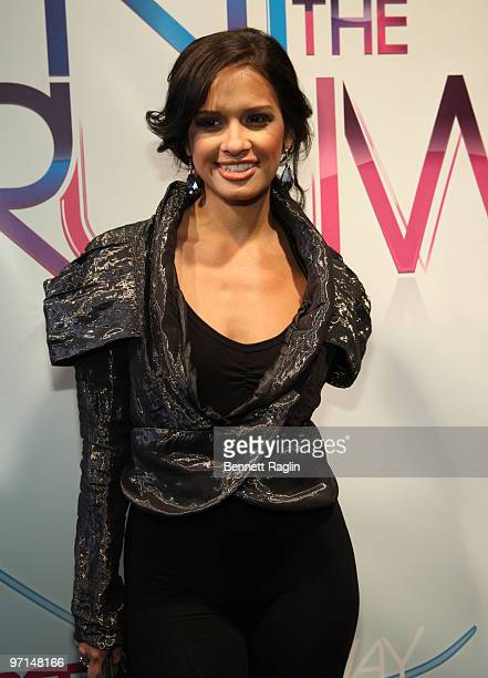 TV personality Rocsi attends BET's Rip The Runway 2010 at the Hammerstein Ballroom on February 27 2010 in New York City