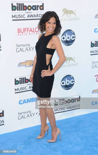 Personality Rocsi Diaz arrives at the 2013 Billboard Music Awards at the MGM Grand Garden Arena on May 19 2013 in Las Vegas Nevada