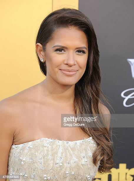 TV personality Rocsi Diaz arrives at the Los Angeles premiere of Entourage at Regency Village Theatre on June 1 2015 in Westwood California