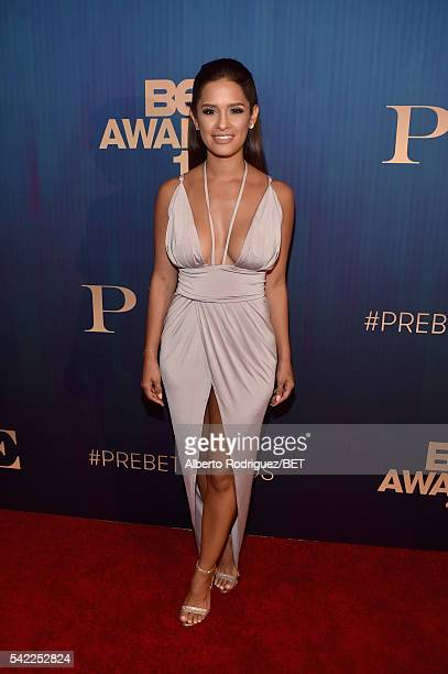 TV personality Rocsi Diaz attends Debra Lee's PRE kicking off the 2016 BET Awards on June 22 2016 in Los Angeles California