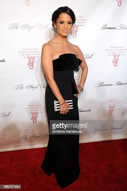 TV personality Rocsi Diaz attends Gabrielle's Angel Foundation Hosts Angel Ball 2013 at Cipriani Wall Street on October 29 2013 in New York City
