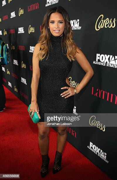 TV personality Rocsi Diaz attends Latina Magazine's Hollywood Hot List Party at Sunset Tower on October 2 2014 in West Hollywood California