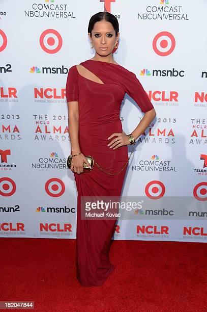 TV personality Rocsi Diaz attends the 2013 NCLR ALMA Awards at Pasadena Civic Auditorium on September 27 2013 in Pasadena California