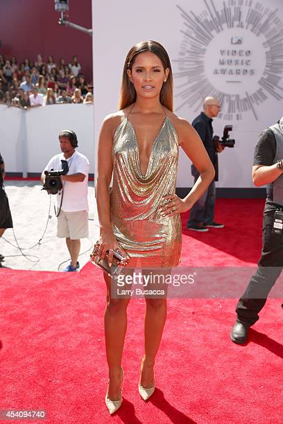 TV personality Rocsi Diaz attends the 2014 MTV Video Music Awards at The Forum on August 24 2014 in Inglewood California