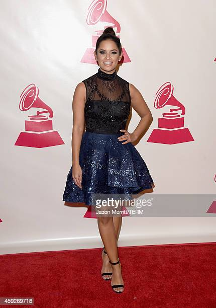 TV personality Rocsi Diaz attends the 2014 Person of the Year honoring Joan Manuel Serrat at the Mandalay Bay Events Center on November 19 2014 in...