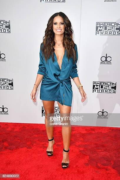 TV personality Rocsi Diaz attends the 2016 American Music Awards at Microsoft Theater on November 20 2016 in Los Angeles California