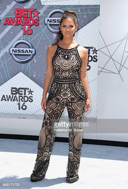 TV personality Rocsi Diaz attends the 2016 BET Awards at the Microsoft Theater on June 26 2016 in Los Angeles California
