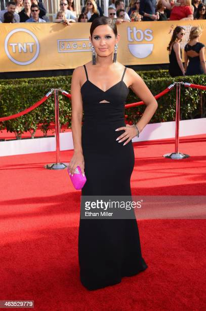 TV personality Rocsi Diaz attends the 20th Annual Screen Actors Guild Awards at The Shrine Auditorium on January 18 2014 in Los Angeles California
