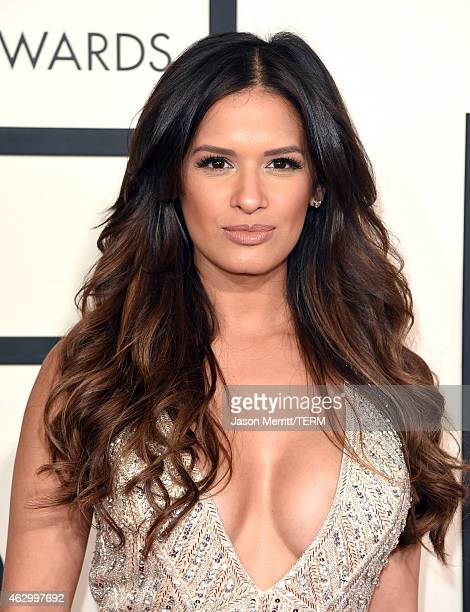 TV personality Rocsi Diaz attends The 57th Annual GRAMMY Awards at the STAPLES Center on February 8 2015 in Los Angeles California