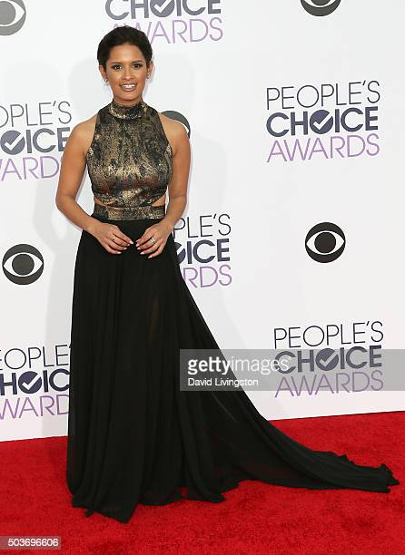 TV personality Rocsi Diaz attends the People's Choice Awards 2016 at Microsoft Theater on January 6 2016 in Los Angeles California