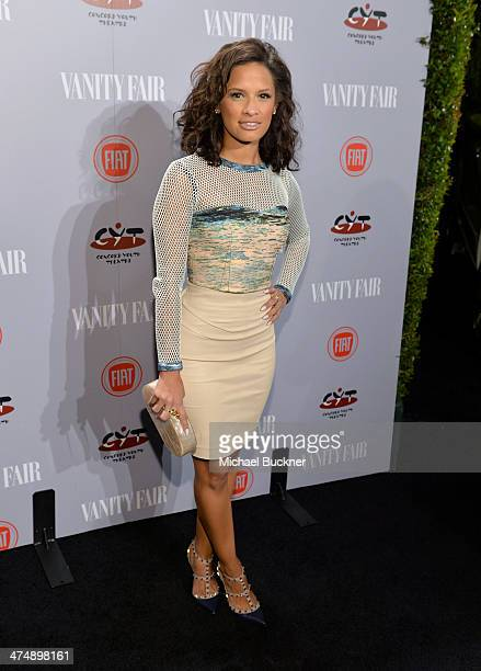 TV personality Rocsi Diaz attends Vanity Fair and FIAT celebration of Young Hollywood during Vanity Fair Campaign Hollywood at No Vacancy on February...