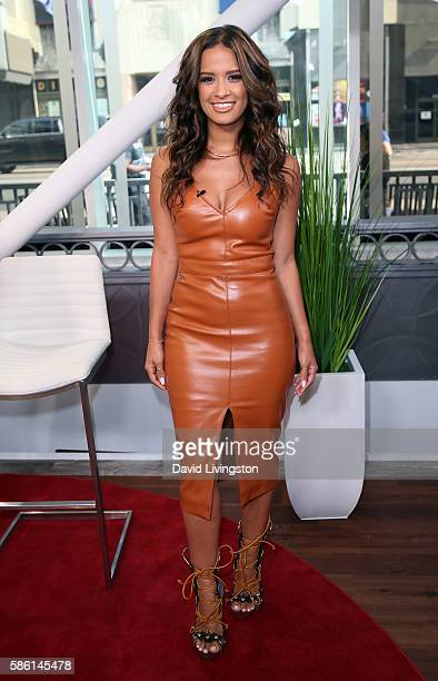 TV personality Rocsi Diaz poses at Hollywood Today Live at W Hollywood on August 5 2016 in Hollywood California