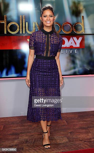 TV personality Rocsi Diaz visits Hollywood Today Live at W Hollywood on June 28 2016 in Hollywood California