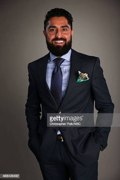TV personality Roh Habibi poses for a portrait during the NBCUniversal Summer Press Day at The Langham Huntington Pasadena on April 2 2015 in...