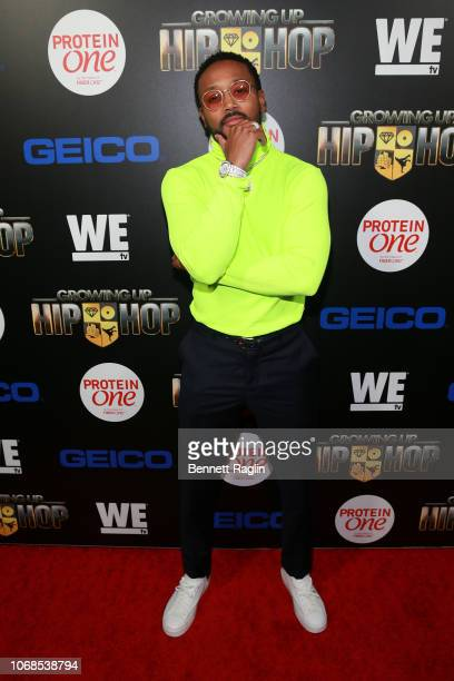 """Personality Romeo Miller attends the """"Growing Up Hip Hop"""" season 4 party on December 4, 2018 in New York City."""