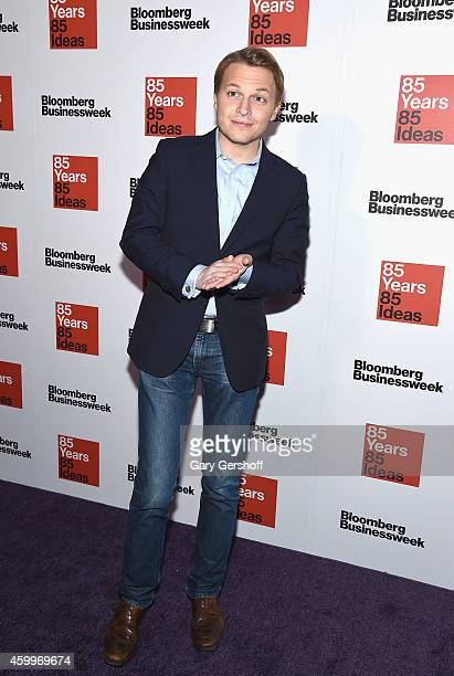 TV personality Ronan Farrow attends Bloomberg Businessweek's 85th Anniversary Celebration at The American Museum of Natural History on December 4...