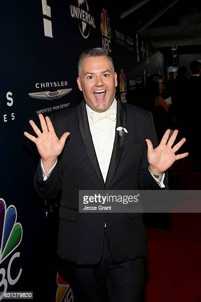 TV personality Ross Mathews attends the Universal NBC Focus Features E Entertainment Golden Globes after party sponsored by Chrysler on January 8...