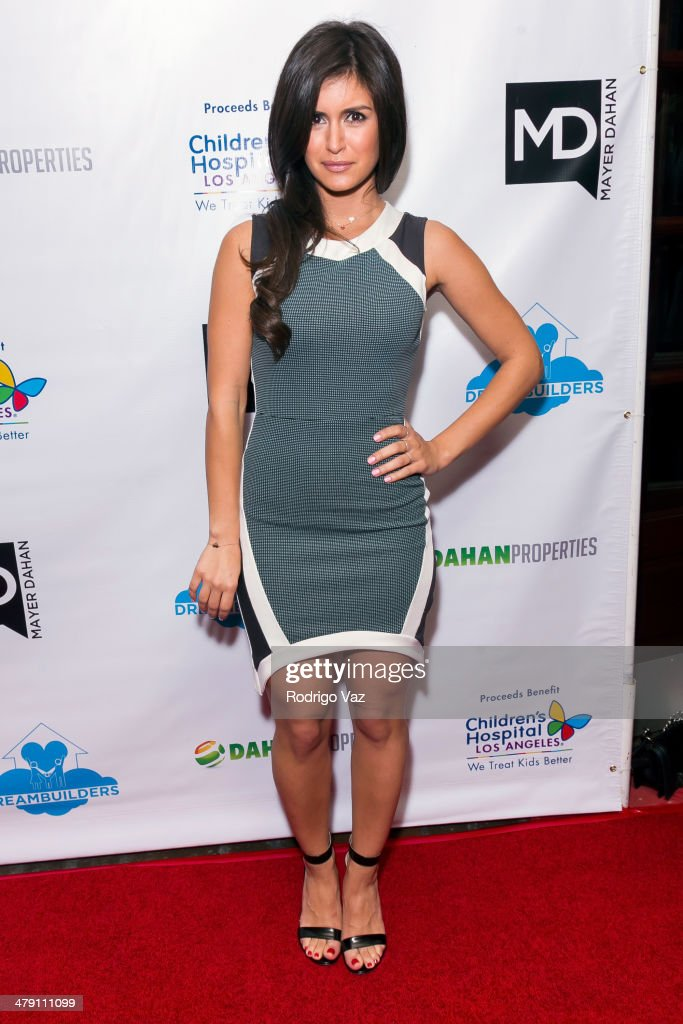 TV personality Roxy Sowlaty attends The Dream Builders Project 'A Brighter Future For Children' at H.O.M.E. on March 15, 2014 in Beverly Hills, California.