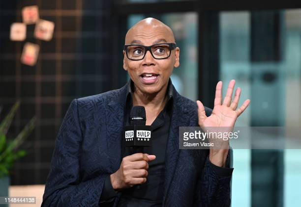 TV personality RuPaul visits Build Series to discuss his new daytime talk show on FOX RuPaul at Build Studio on June 6 2019 in New York City